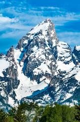 Fototapeta na wymiar Grand Teton Peak