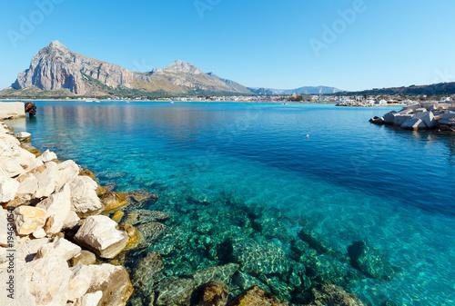Spoed Foto op Canvas Mediterraans Europa San Vito lo Capo, Sicily, Italy