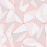 Geometryczny wzór. Streszczenie tło wielokąta. Trójkąt wektor pastelowe tło. - 194639346