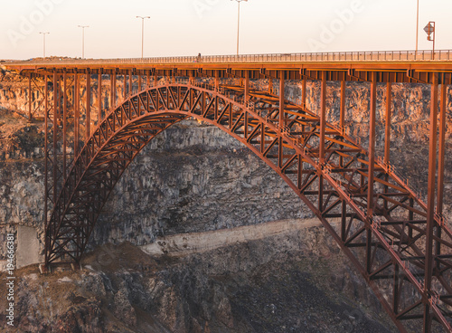 Perrine Bridge In Twin Falls Idaho Buy This Stock Photo And