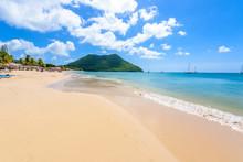 Reduit Beach - Tropical Coast ...