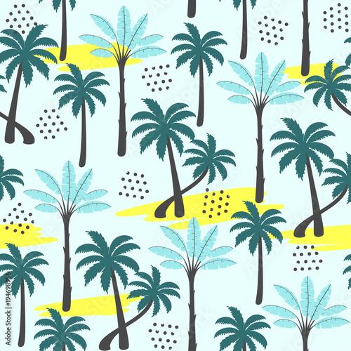 wzor-palmy-ilustracja-wektorowa