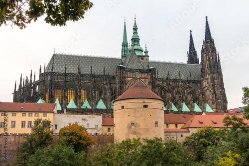 Royal garden at prague. Czech Republic Poster