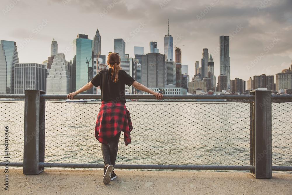 Fototapety, obrazy: Enjoying the New York view