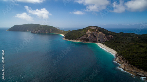 Fotografia, Obraz  Aerial view of the Bald Head  Ithmus  in the Torndirrup National Park, Albany, W