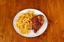 Roasted Half Chicken, Traditio...