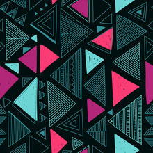 Vector Seamless Pattern With E...