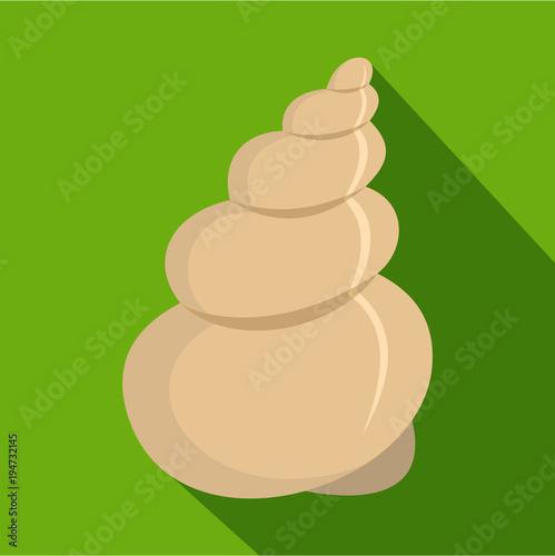 Fotografie, Obraz  Twisted shell icon