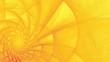 canvas print picture - Spiralartige Hintergrundgrafik - Gelbtöne