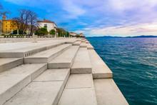 Zadar Coastline Sea Organ. / S...