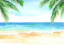 Seascape. Summer Tropical Beac...