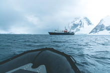 Expedition Vessel In The Polar...