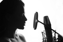 Woman Singing In The Recording...