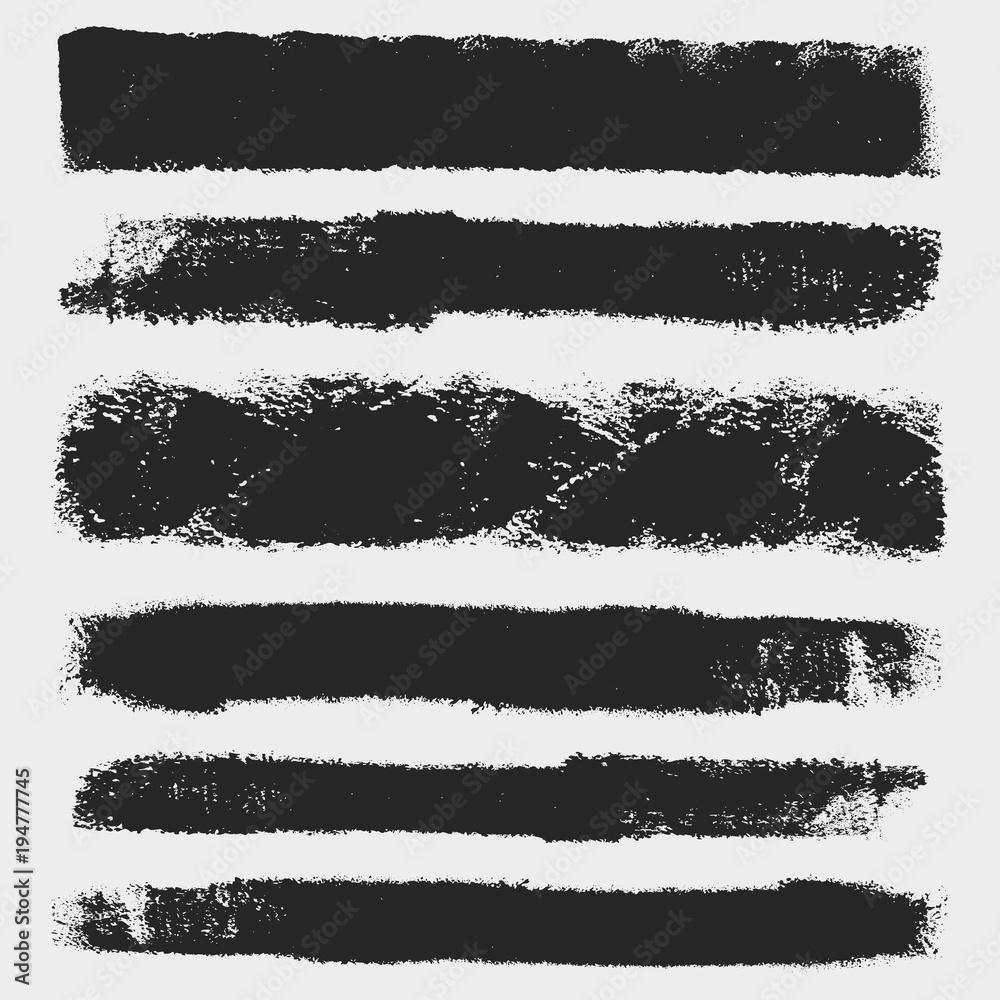 Fototapety, obrazy: Fat Brushes Set