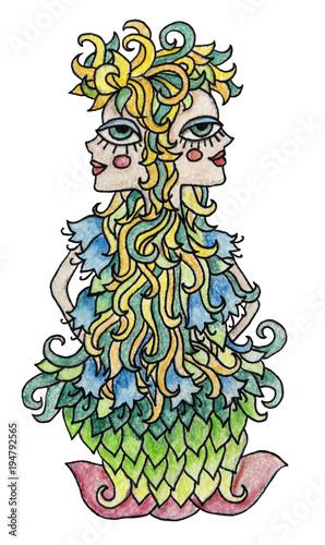 Image result for colorful gemini art
