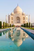 Taj Mahal Am Morgen, Indien