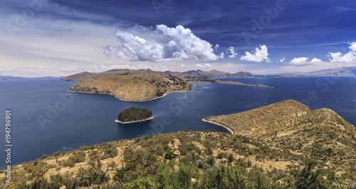 Fotografie, Obraz  Island of the Sun (Isla del Sol), Lake Titicaca, Bolivia
