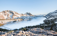 Duck Lake At Duck Pass Is An E...