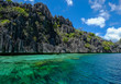 Seascape of Palawan Island, Philippines