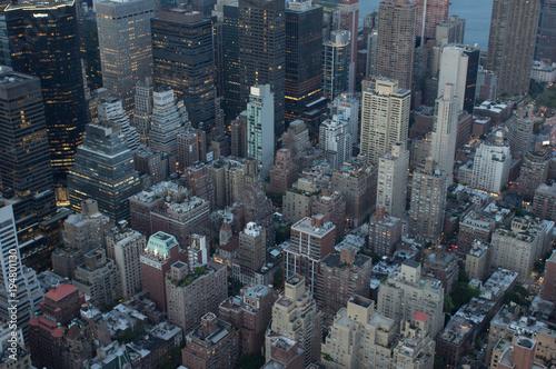 New York Cityscape Poster