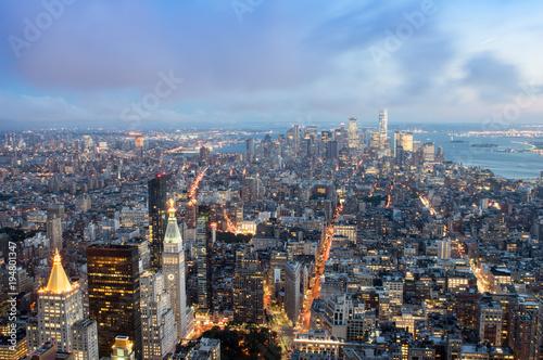 Fotografering  Night in New York City