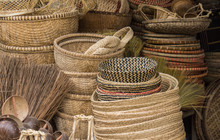 Baskets For Sale In The Market