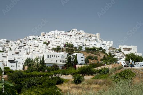 Valokuvatapetti Mojacar white village in Almeria