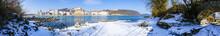 Winterliches Stadtpanorama Von...
