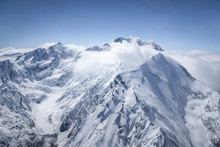 Southern Alps / An Image Of The Southern Alps Of New Zealand Taken From An Aircraft In November 2007