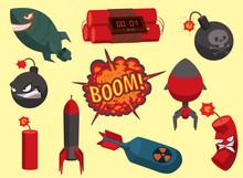 Bomb Vector Dynamite Fuse Illu...