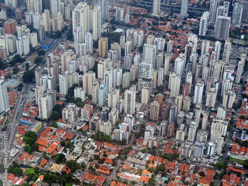 Fotografía  Sao Paulo aerial view
