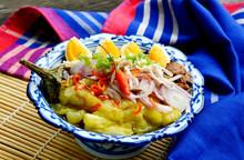 Thai Menu Style Grilled Eggpla...