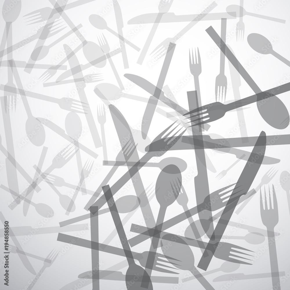 Zastawa stołowa na białym tle <span>plik: #194858550   autor: puckillustrations</span>