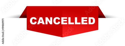 Photo banner cancelled