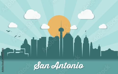 Photo San Antonio skyline