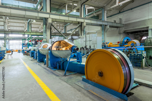 Fotografija Modern cable factory