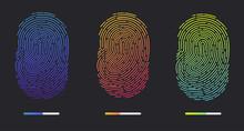Fingerprints. Illustration Of ...