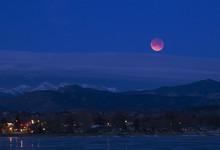 Super Blood Moon, Loveland - Colorado, January 2018, Lunar Eclipse