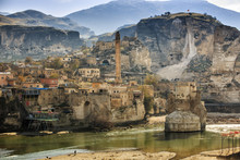 The Landscape Of The Hasankeyf...