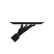 Waiter Sign. Vector.