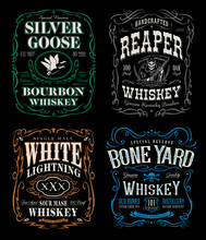 Whiskey Label T-shirt Graphics...