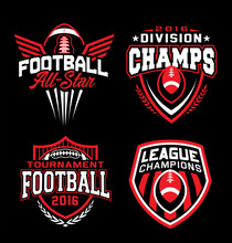 Football Sport Graphic Emblem ...