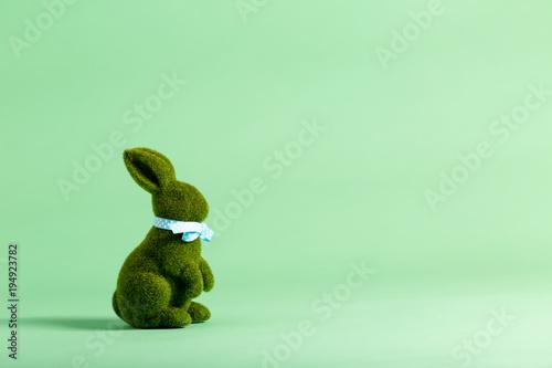 Fotografie, Obraz  Easter holiday theme with ornamental bunny rabbit