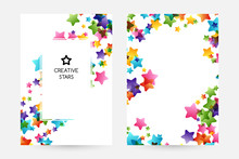 Creative Kids Vector Cards Wit...