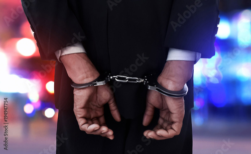 Fotografia Businessman in handcuffs
