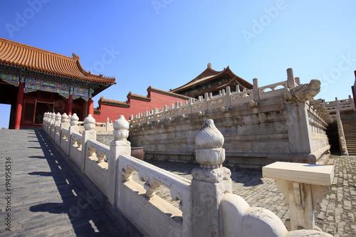 Foto op Aluminium Beijing The Forbidden City (Palace Museum) in China