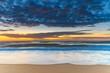 Vibrant Sunrise Seascape