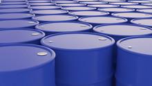 Blue Oil Barrels Background Co...