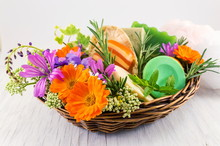 Herbal Soaps And Fresh Spring ...