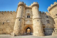 The Knights Grand Master Palace At Rhodes Island, Greece